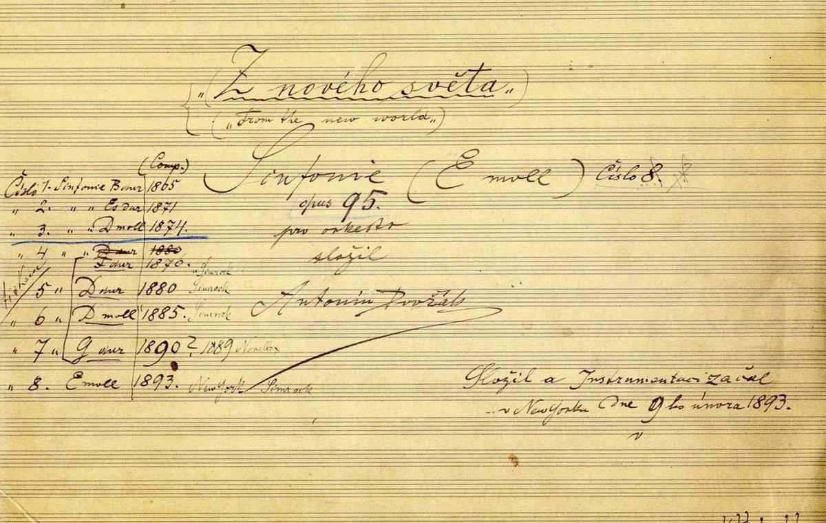 Hugo de Groot bespreekt... de Negende Symfonie van Dvořák