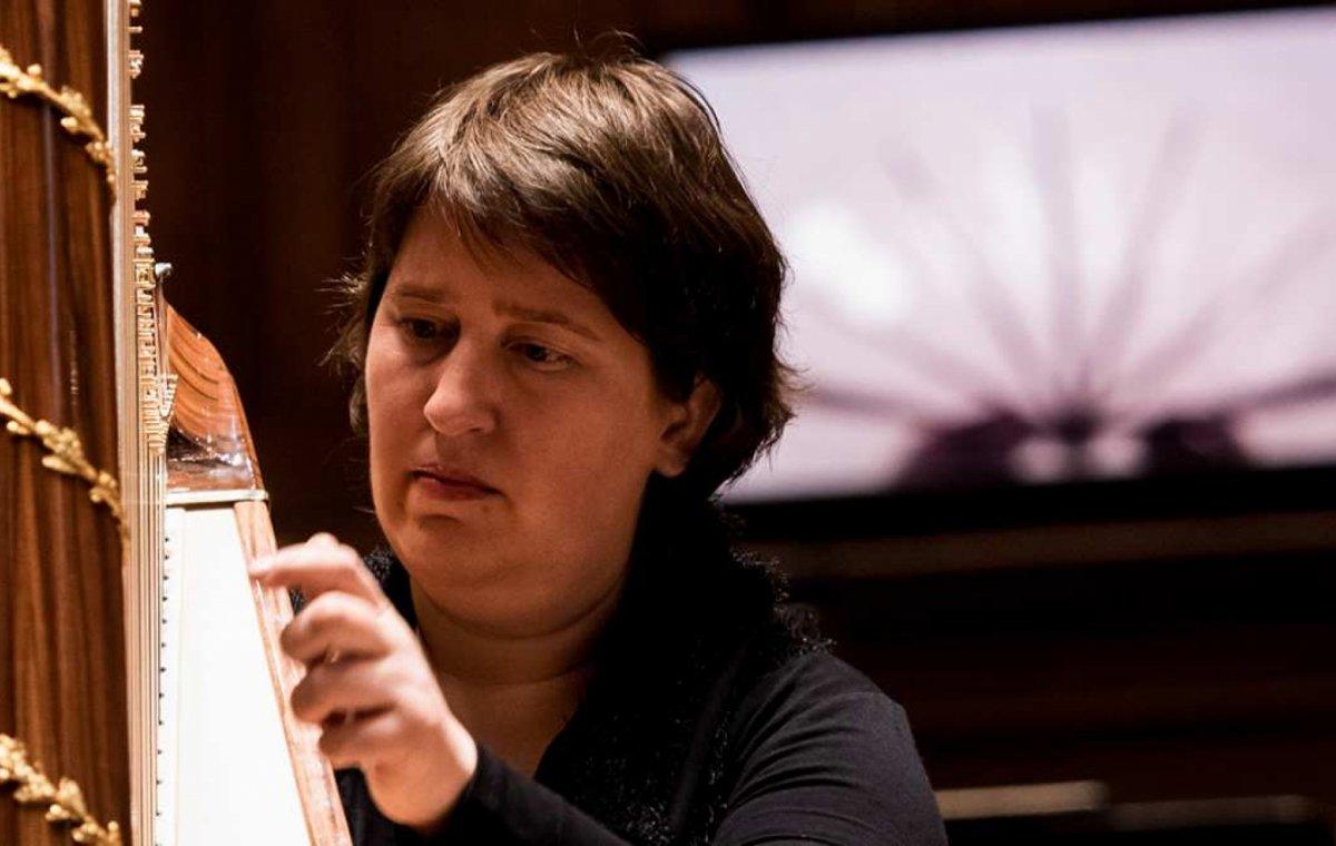 Close-up portretconcert: Petra van der Heide, harp