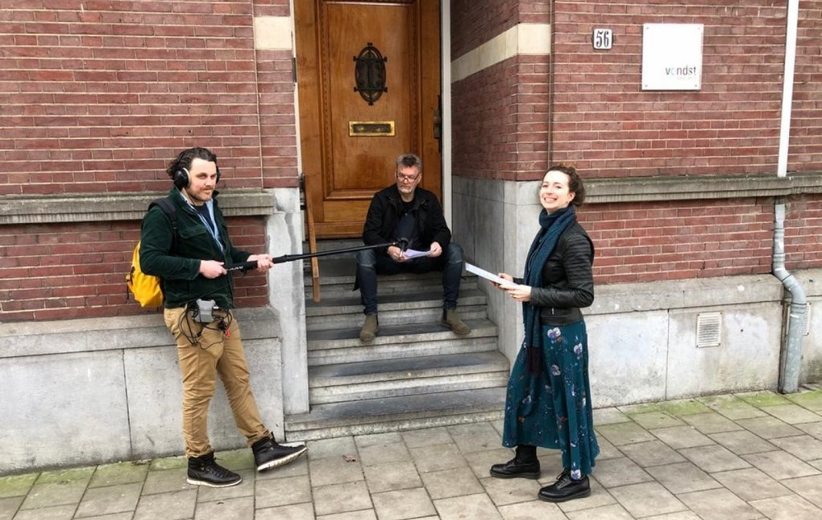 Audiotour over Concertgebouwbuurt