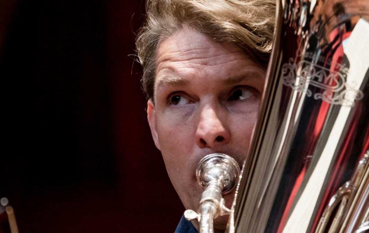 Close-up portretconcert: Perry Hoogendijk, tuba